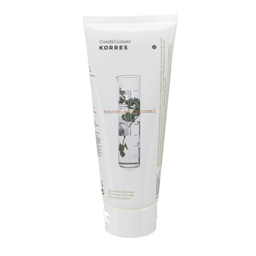 Image of Korres après-shampooing aloe & ditanny