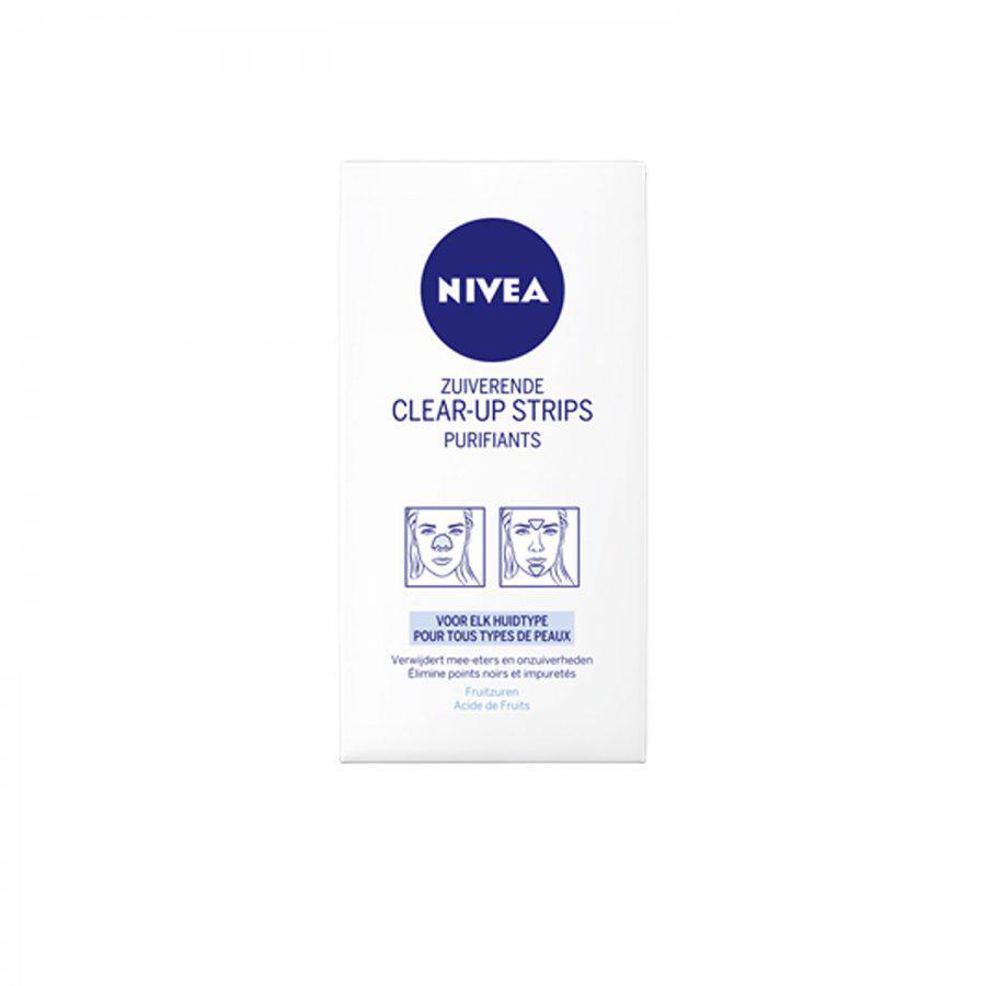 Image of Nivea visage clear-up strips purifiant