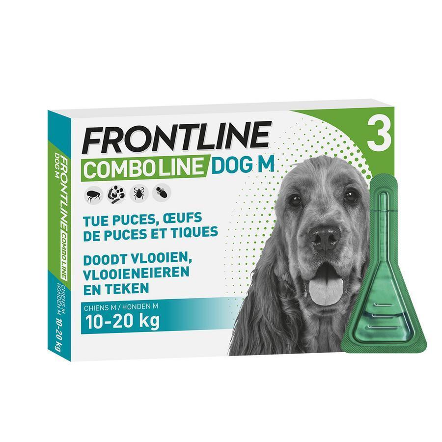 Image of Frontline Combo Line Puces et Tiques Chien M 10-20kg