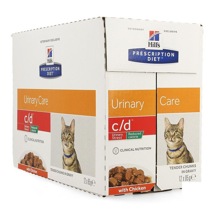 Image of Hills Prescrip.diet Feline Cd Urin.réduc.cal12x85g