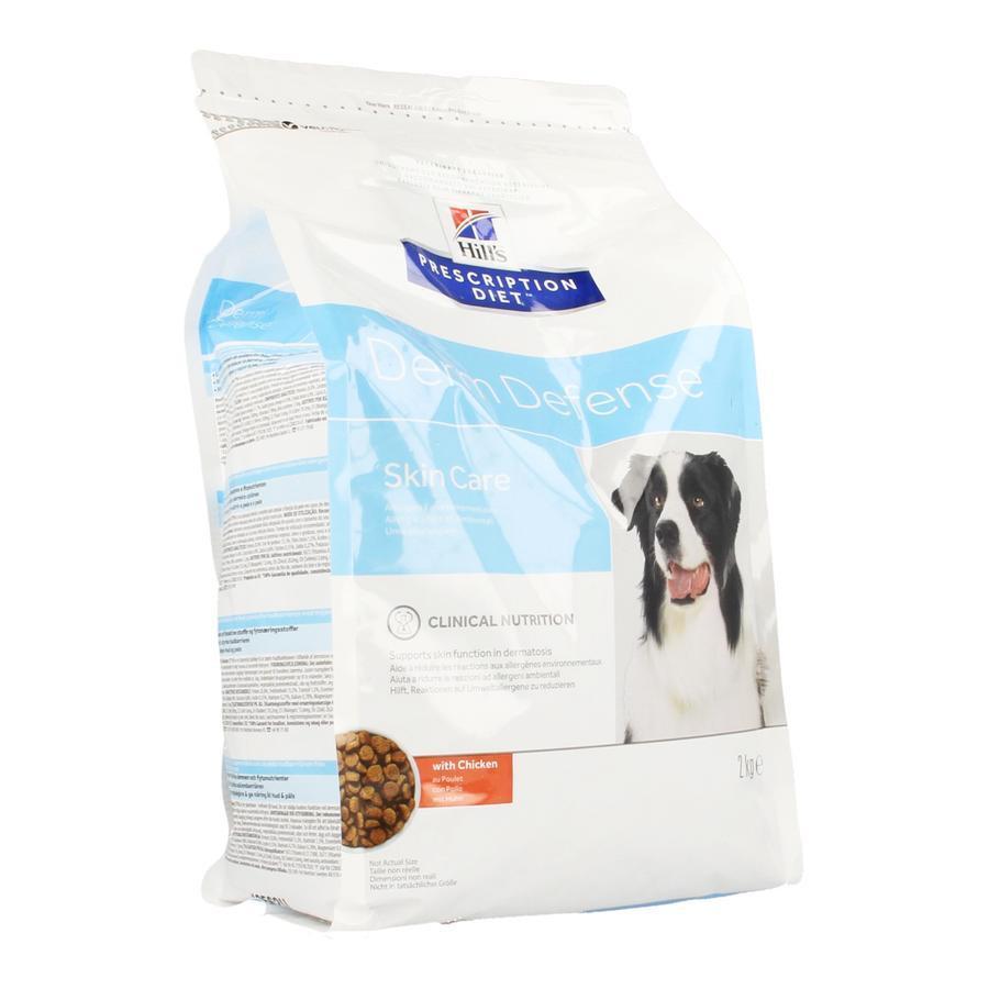 Hills prescription hond Derm Defence Skin Care