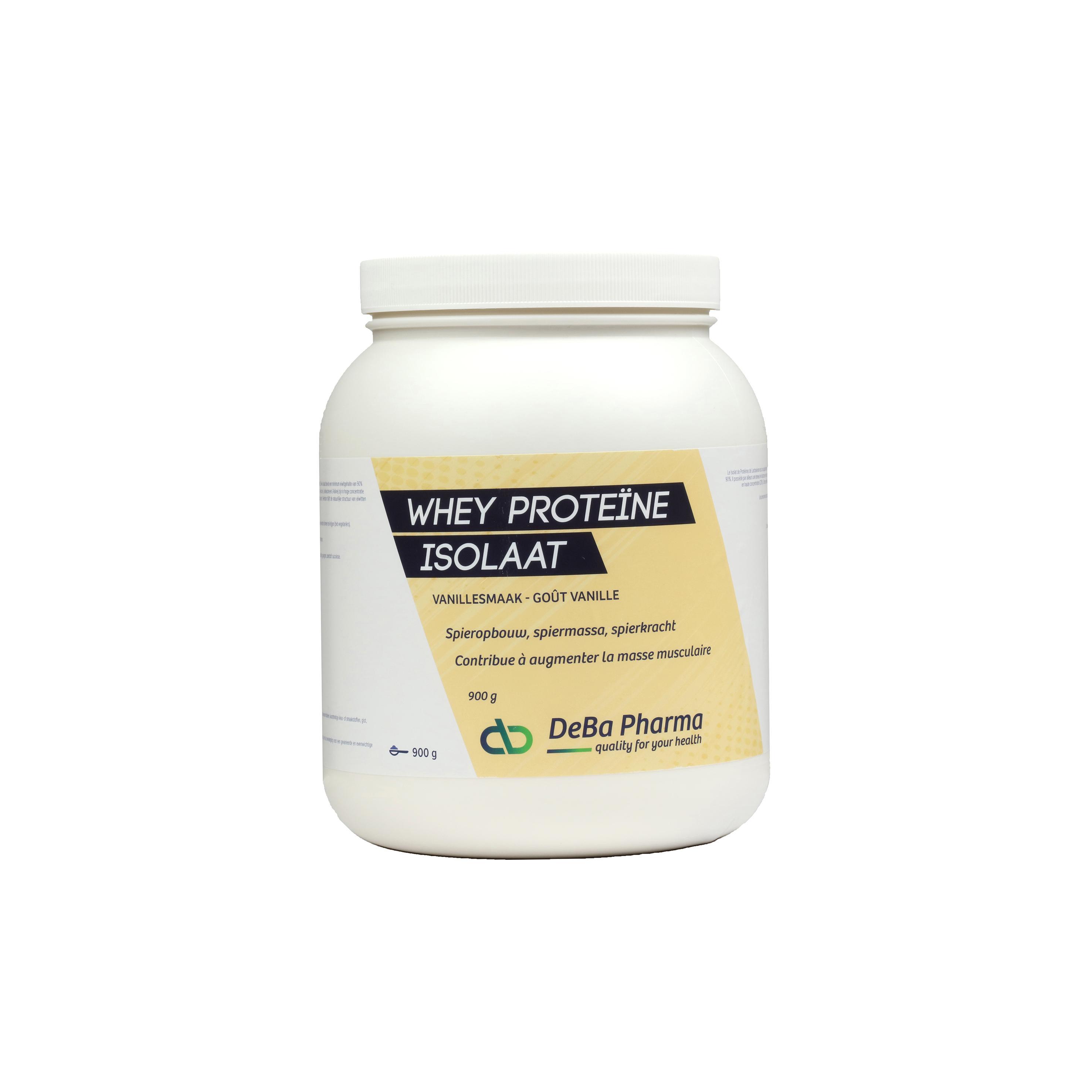 Deba Whey Proteine Isolaat Vanille
