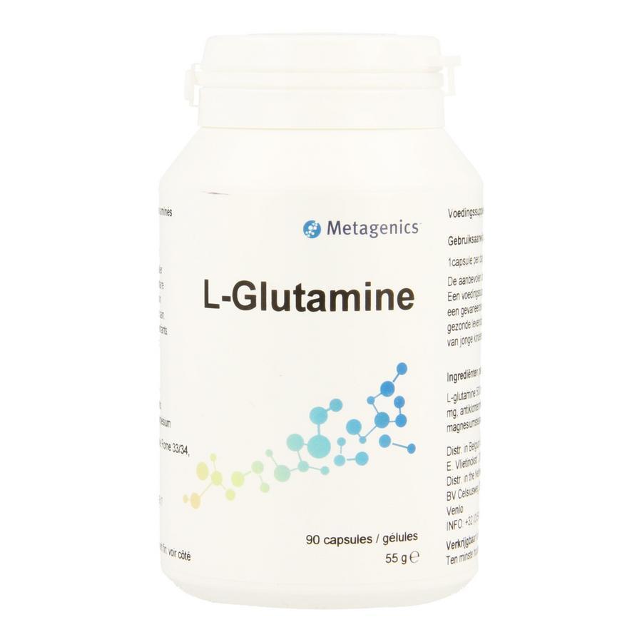 Funciomed L Glutamine 90cap