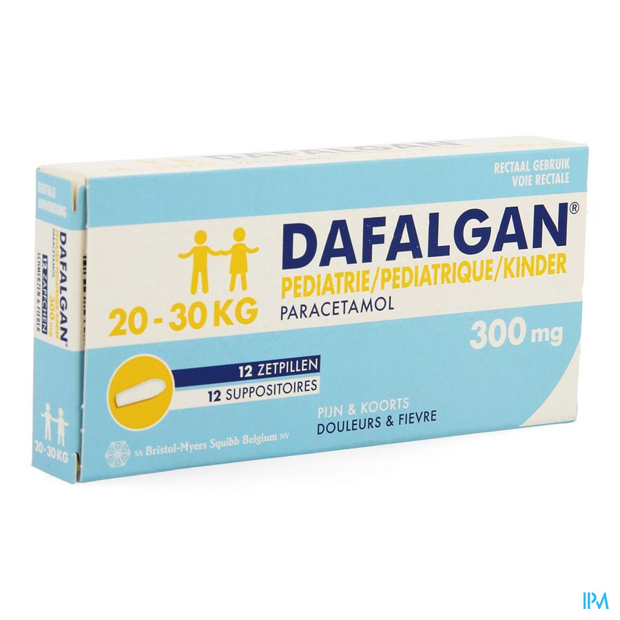 Image of Dafalgan Pediatrie 300mg
