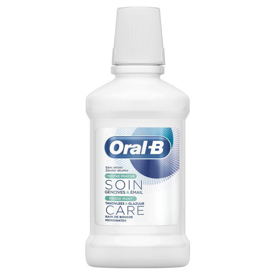 Image of Oral-B bain de bouche gencives&émail