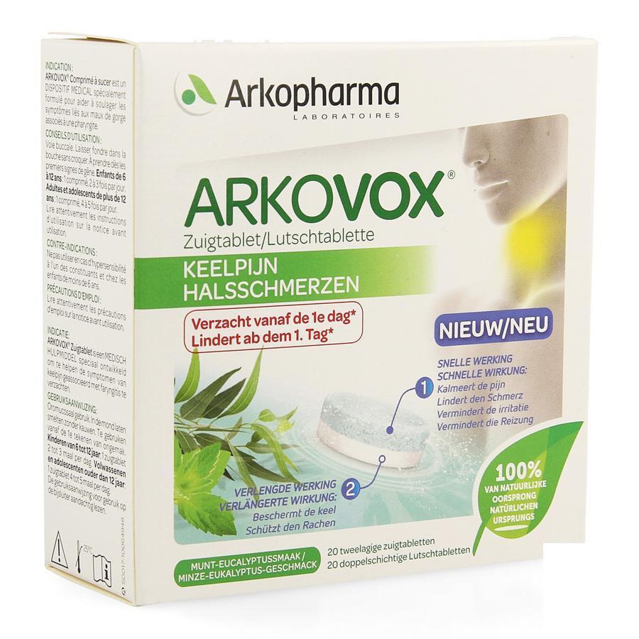 Image of Arkovox Keelpijn Eucalyptus munt