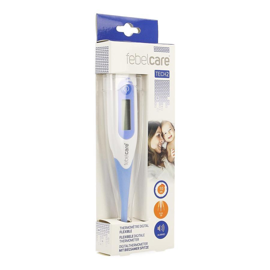 Febelcare Tech2 Thermometer Digitaal Flexibel