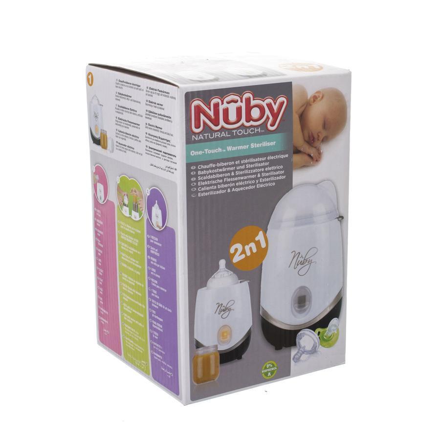 Image of Nûby 2-en-1 chauffe-biberon et stérilisateur