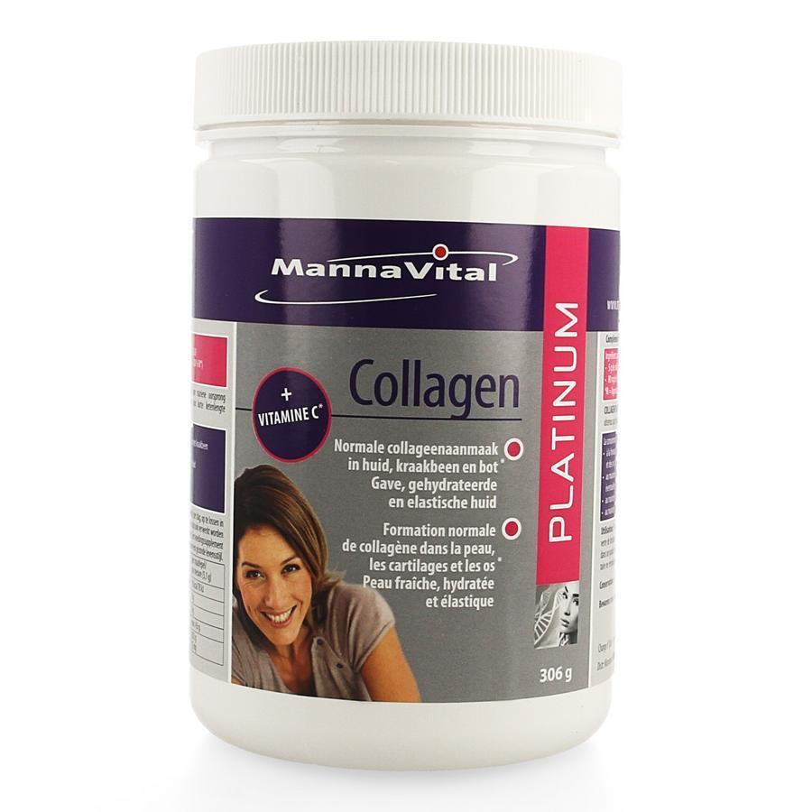 Image of Mannavital Collagen Platinum 306g