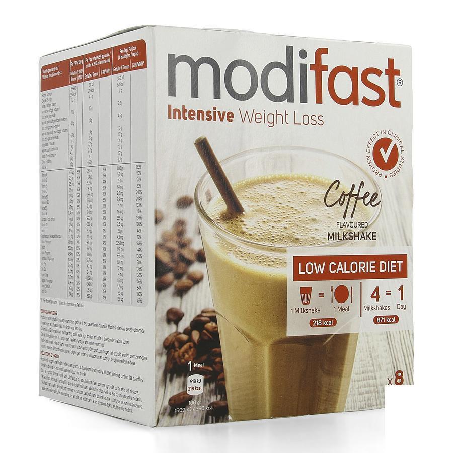 Image of Modifast Intensif Milkshake café