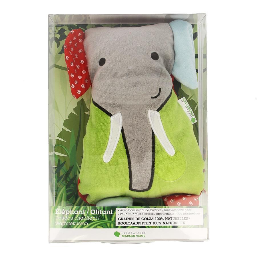 Image of Marque Verte Bouillotte Doudou éléphant
