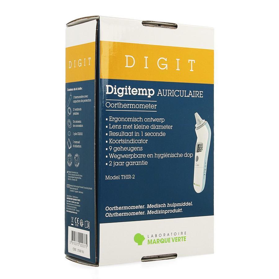 Image of Marque Verte Digitemp oorthermometer