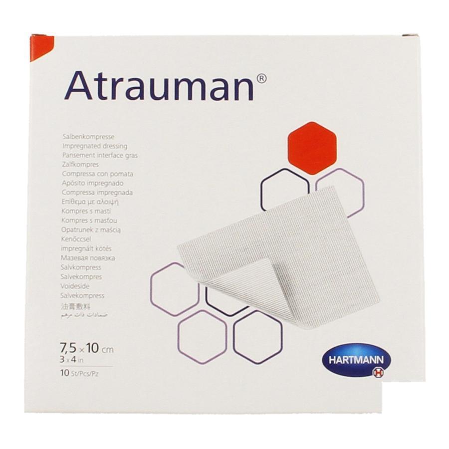 Image of Atrauman compresse grasse 7,5cmx10cm