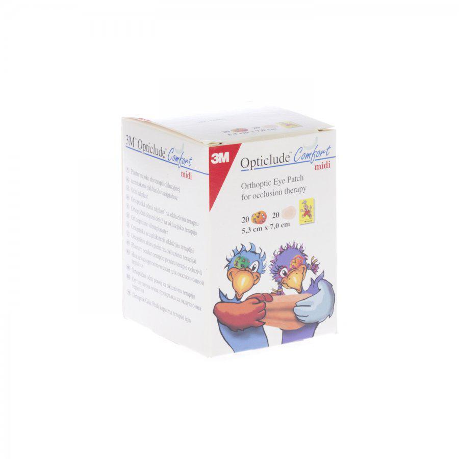 Opticlude Oogpleisters Comfort 53 x 70mm