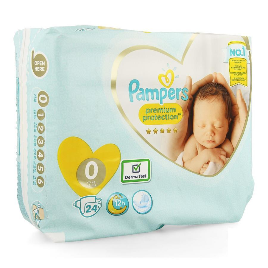 Image of Pampers Premium Protection M0