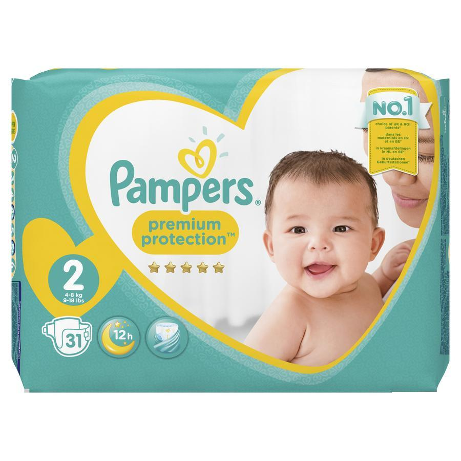 Image of Pampers Premium Protection M2