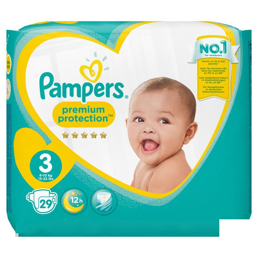 Image of Pampers Premium Protection M3