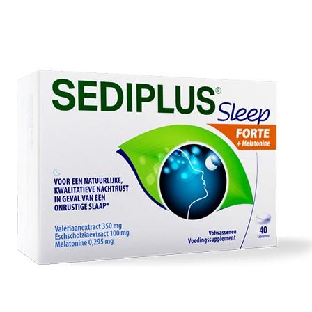 Image of Sediplus Sleep Forte + Melatonine Promo