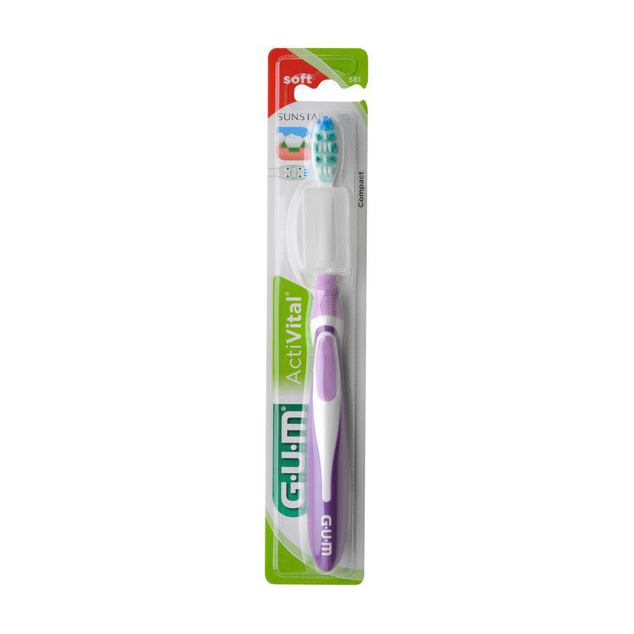 Image of Gum ActiVital tandenborstel soft