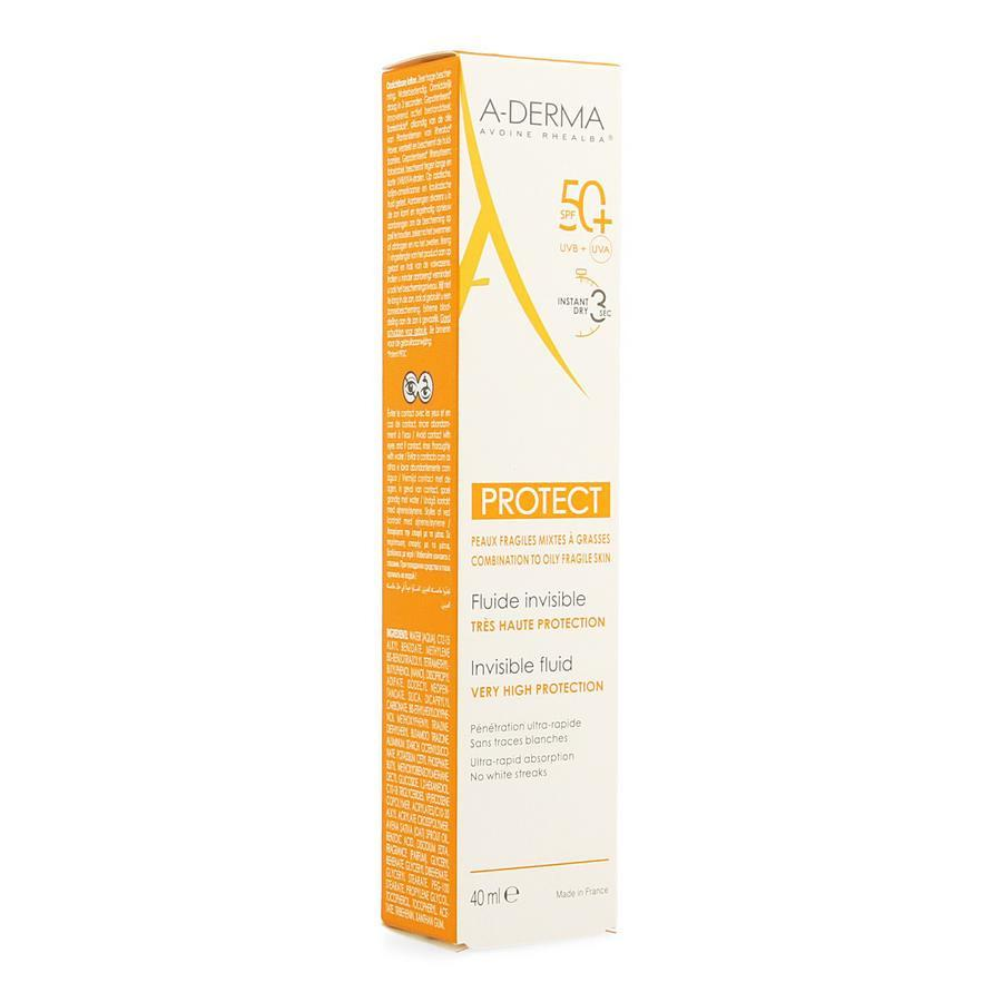 Image of Aderma Protect Fluide invisible SPF50+