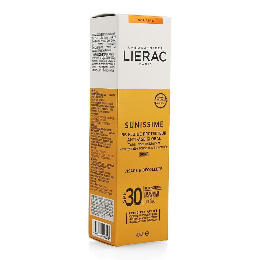 Image of Lierac Sunissime BB Fluide protecteur doré SPF30