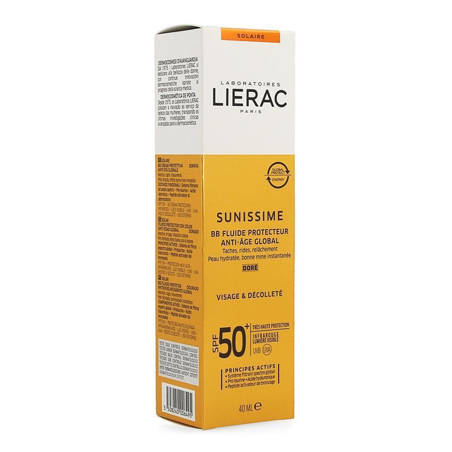Image of Lierac Sunissime BB Fluide protecteur doré SPF50