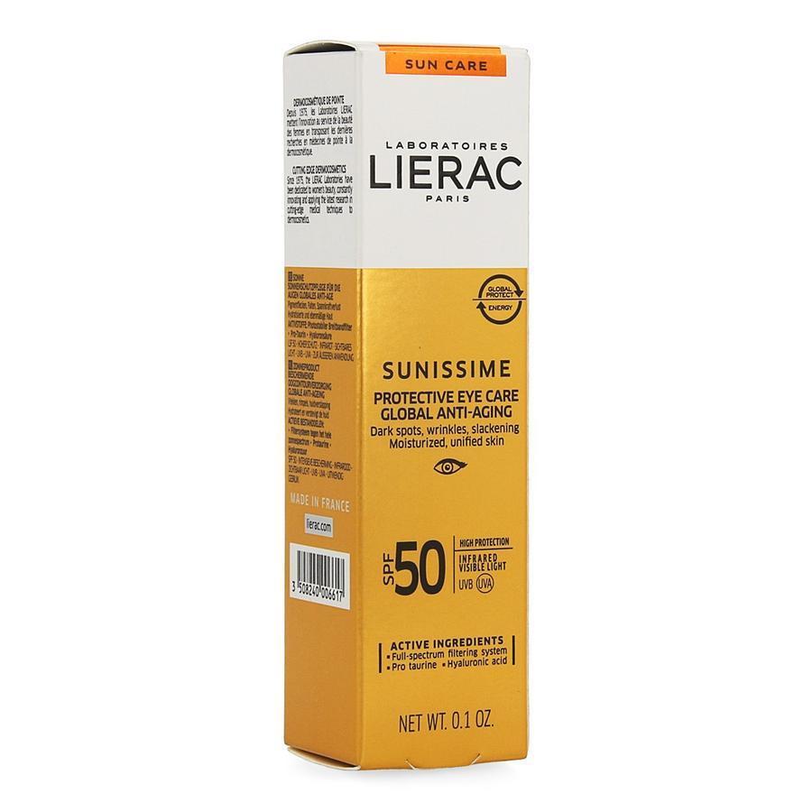 Image of Lierac Sunissime Contour yeux teinte SPF50