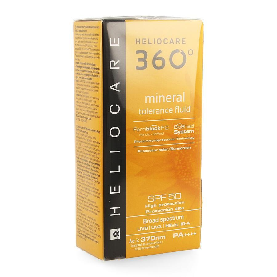 Image of Heliocare 360° Mineral Tolerance fluid SPF50+