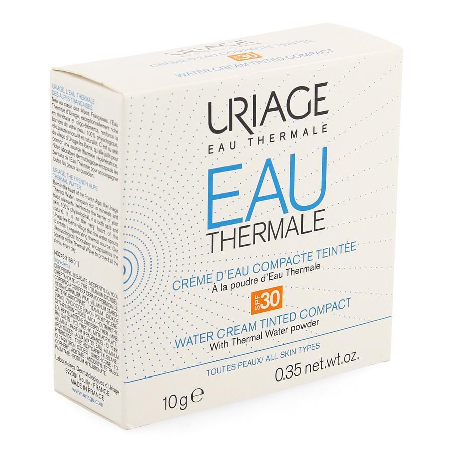 Image of Uriage Eau thermal Getinte watercompact SPF30