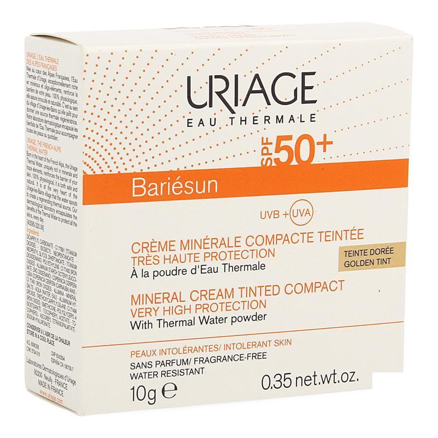 Image of Uriage Bariésun compact SPF50+ doré