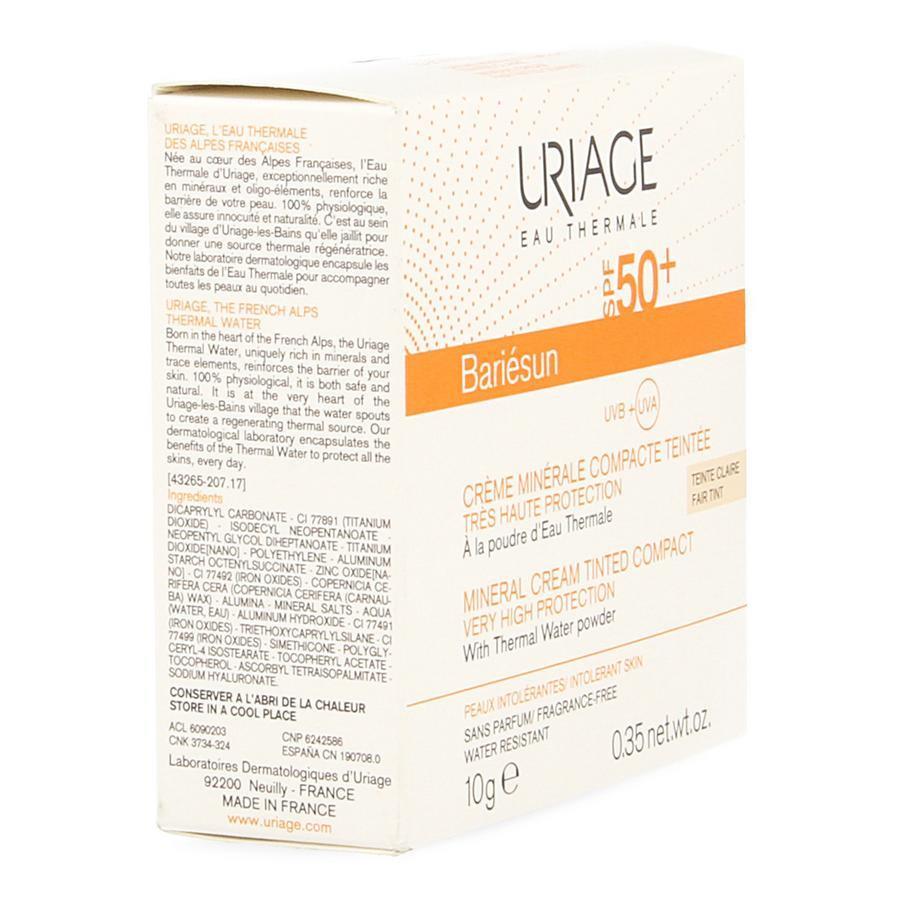 Image of Uriage Bariésun compact SPF50+ claire