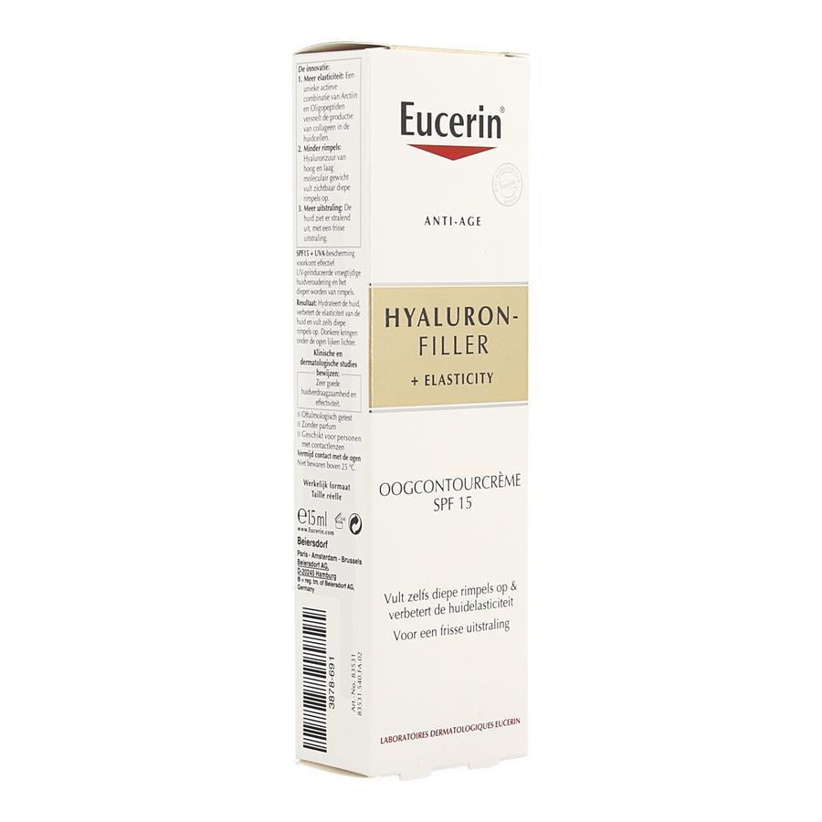 Image of Eucerin Anti-âge Hyaluron-Filler + Elasticité contour des yeux