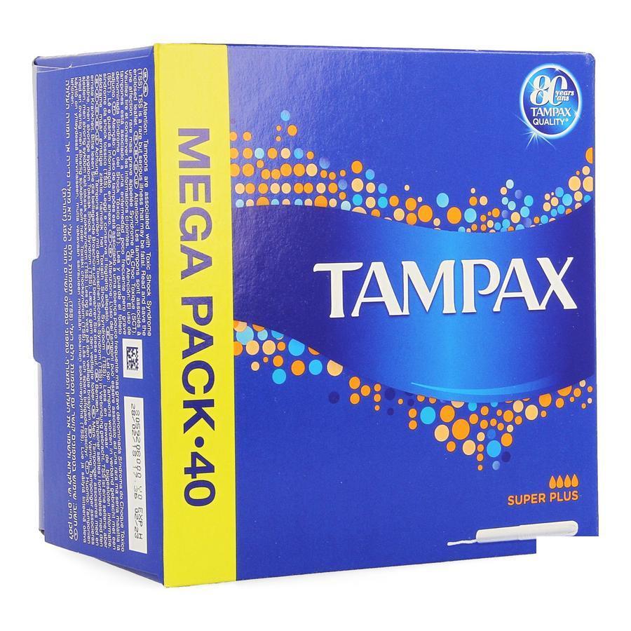 Image of Tampax Super Plus