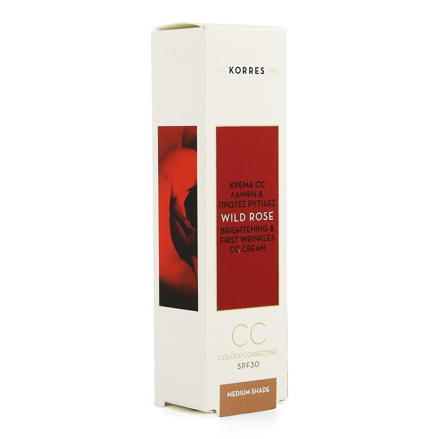 Image of Korres Wild Rose CC Cream SPF30
