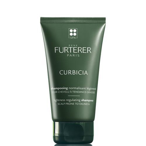 Image of René Furterer Curbicia Shampooing normalisant + masque Karité hydratant gratuit 15ml