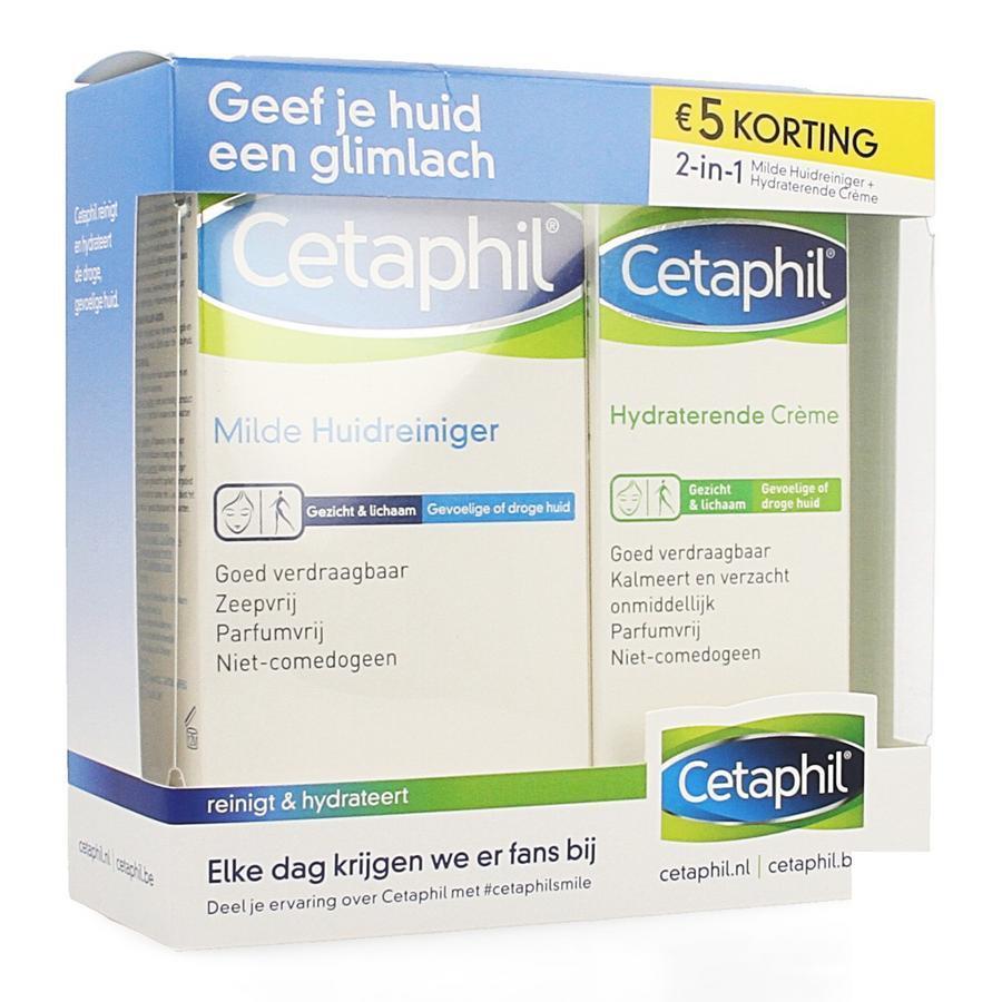 Image of Cetaphil Droge & gevoelige huid Promopack
