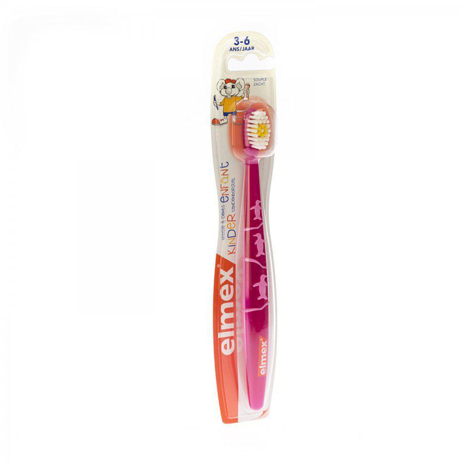 Image of Elmex brosse à dents enfant
