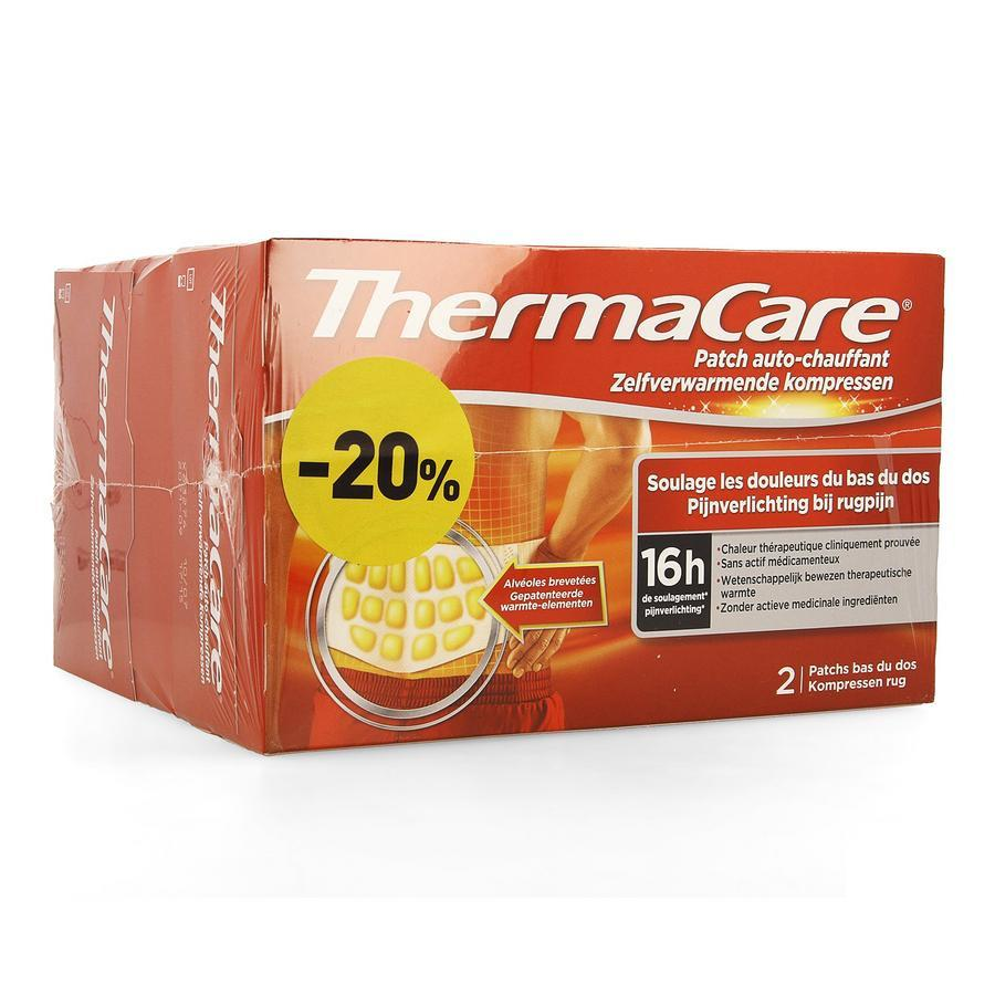 Image of Thermacare patchs auto-chauffants Promo