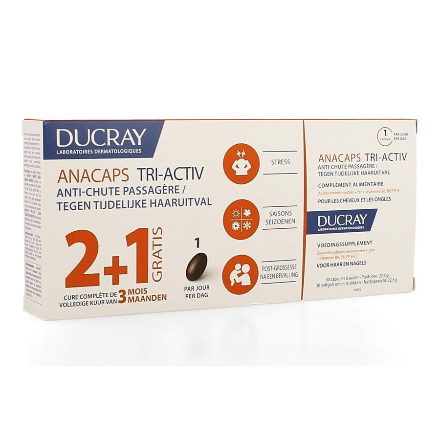 Image of Ducray Anacaps Tri-Activ chute occasionnelle de cheveux