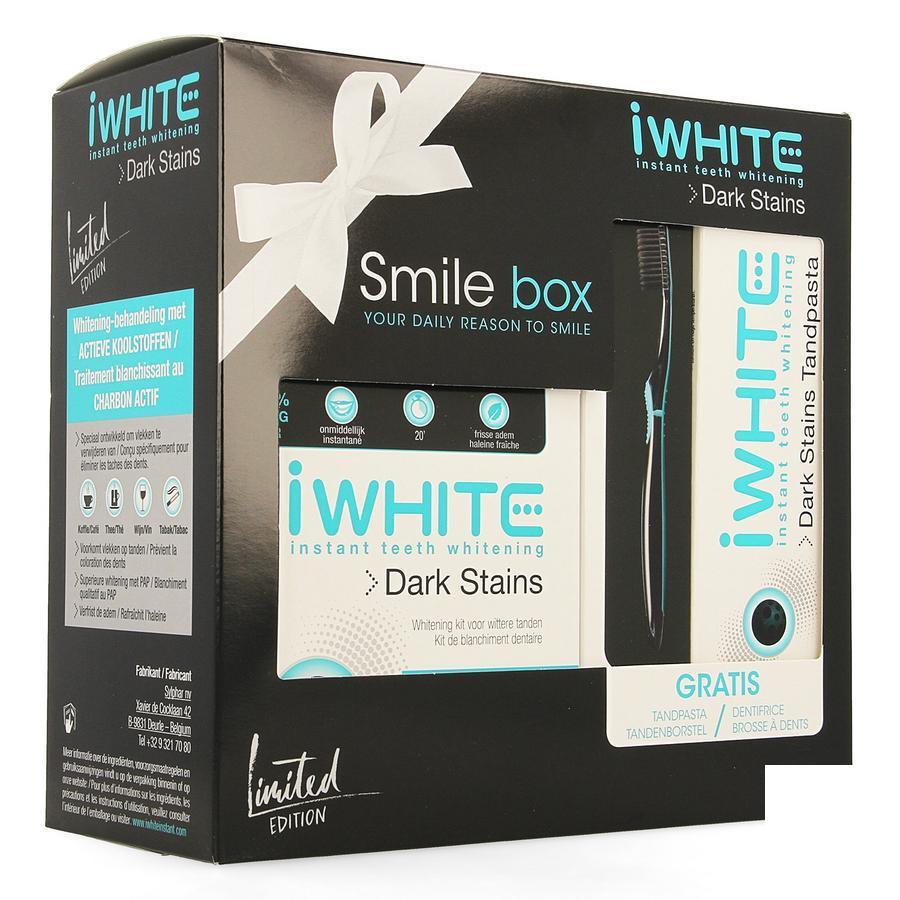 Image of Sylphar iWhite Dark Stains Smile box