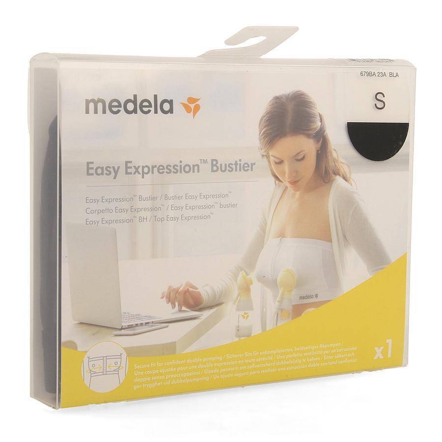 Medela Easy Expression Bustier Zwart S