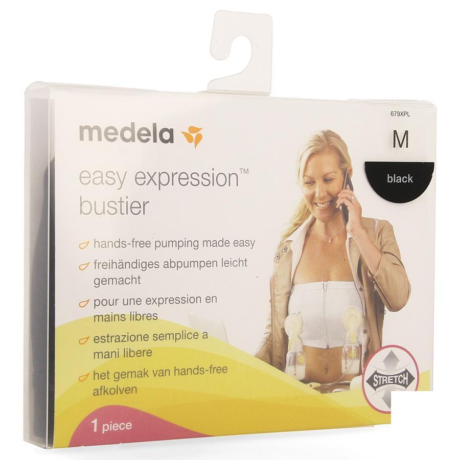 Medela Easy Expression Bustier Zwart M