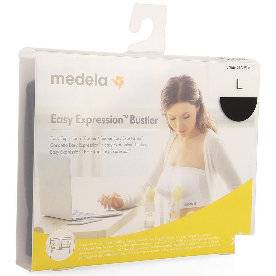 Medela Easy Expression Bustier Zwart L