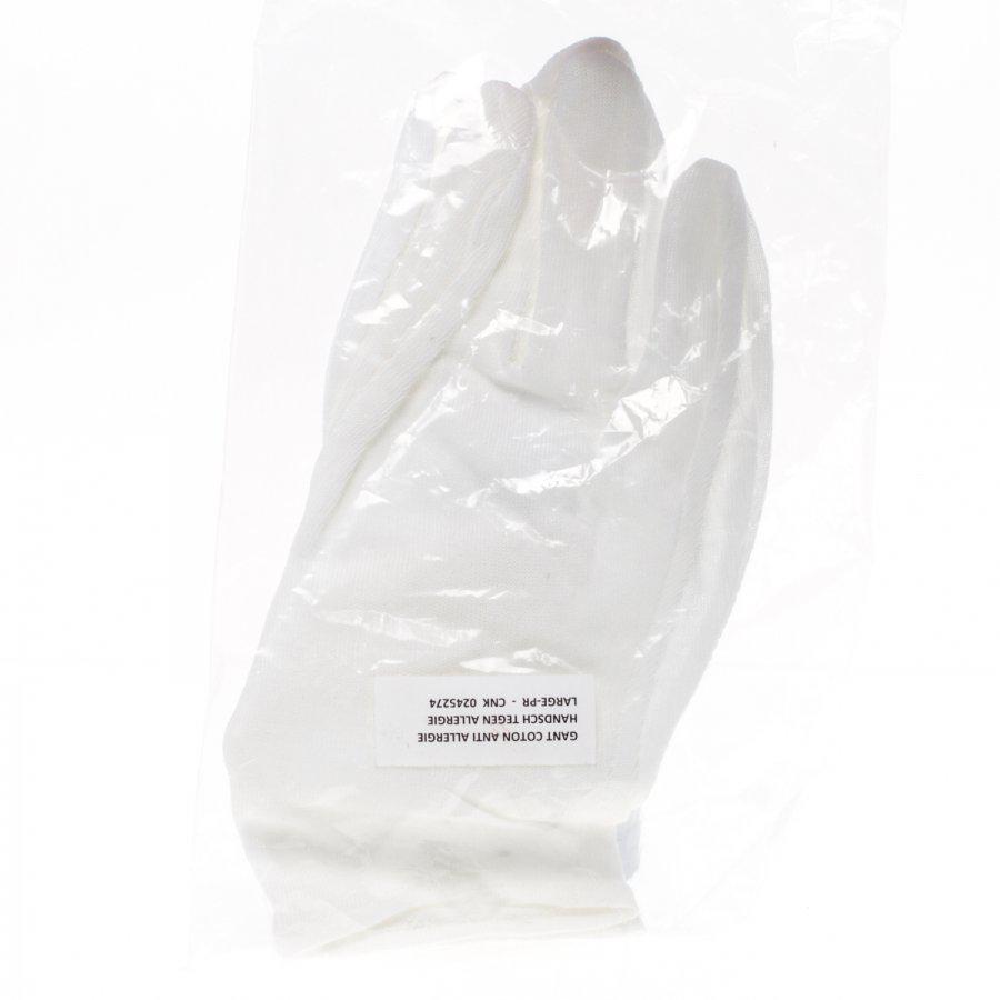 Image of Katoenen handschoen anti-allergie L