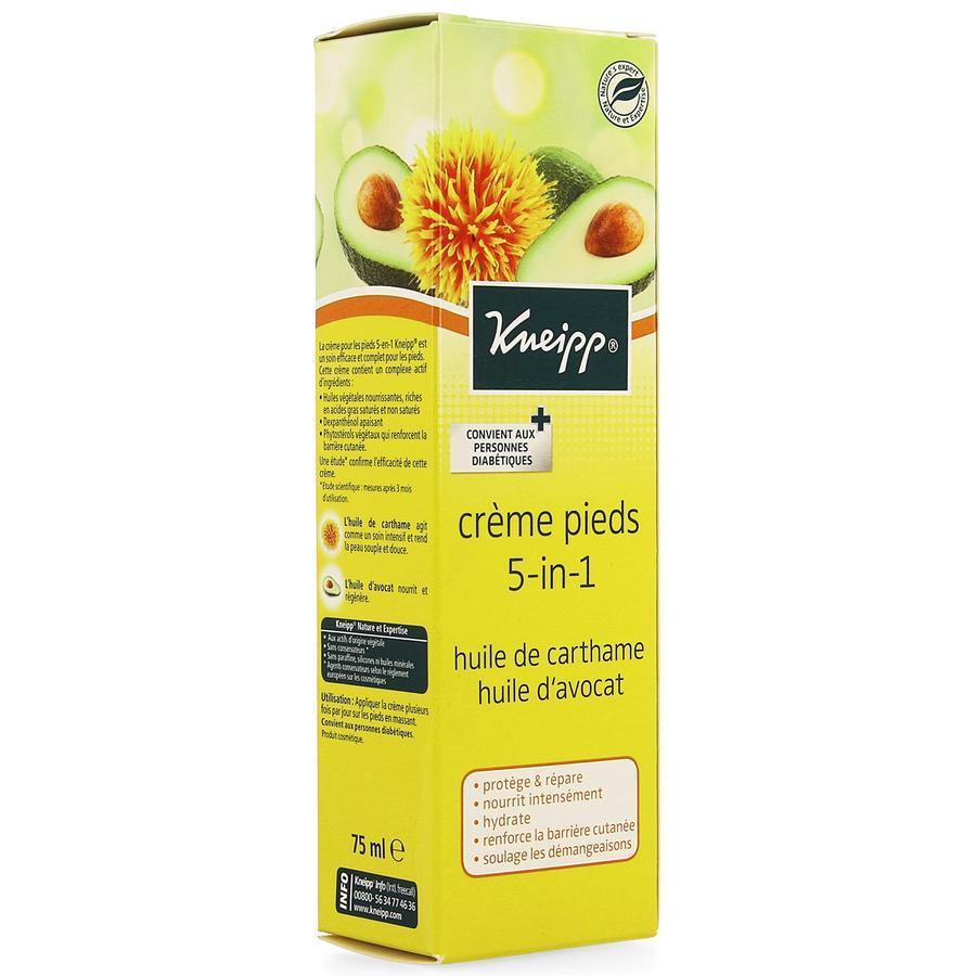 Image of Kneipp Crème pour les pieds 5en1