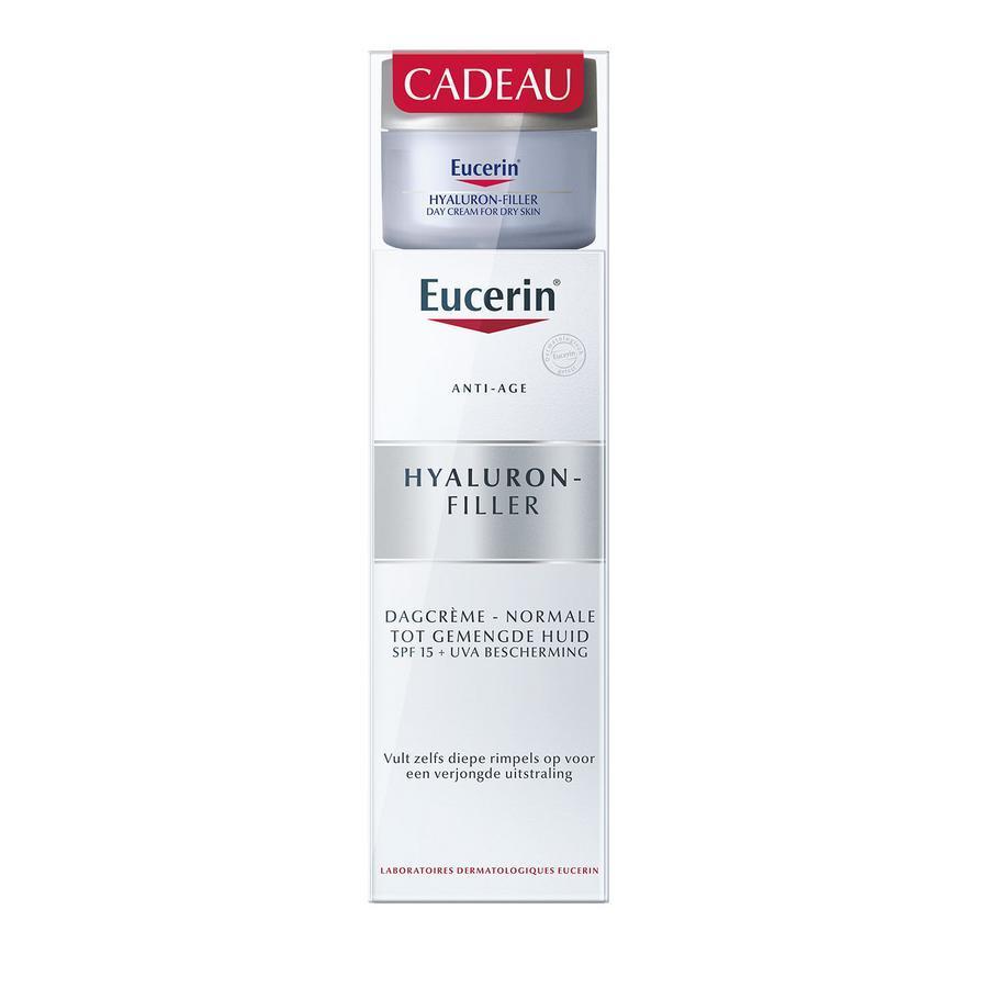 Image of Eucerin Anti-âge Hyaluron-Filler crème de jour légère Promo
