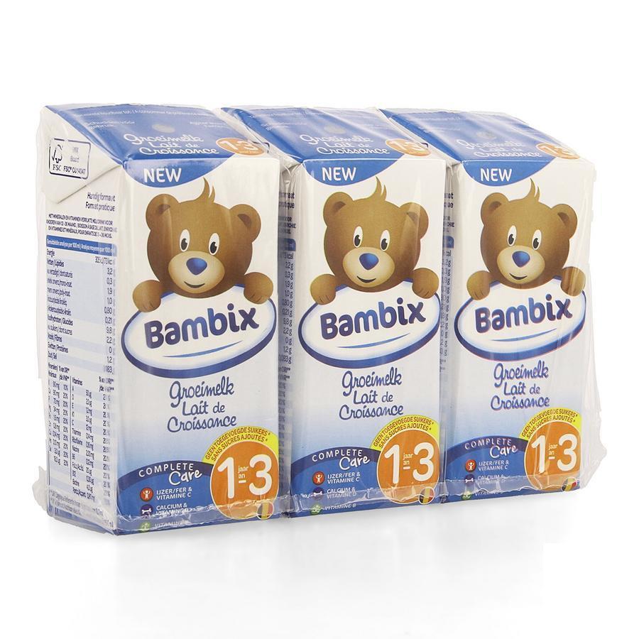 Image of Bambix Lait de croissance nature 1-3 ans