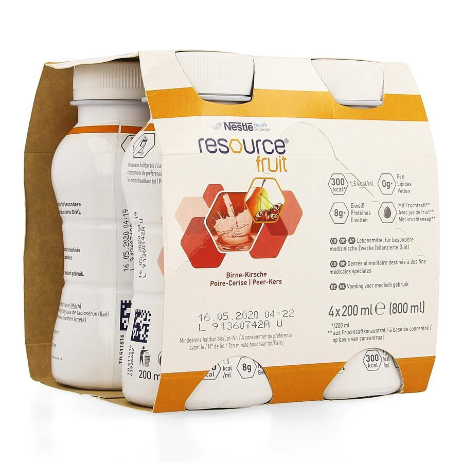 Image of Nestlé Resource Fruit poire/cerise