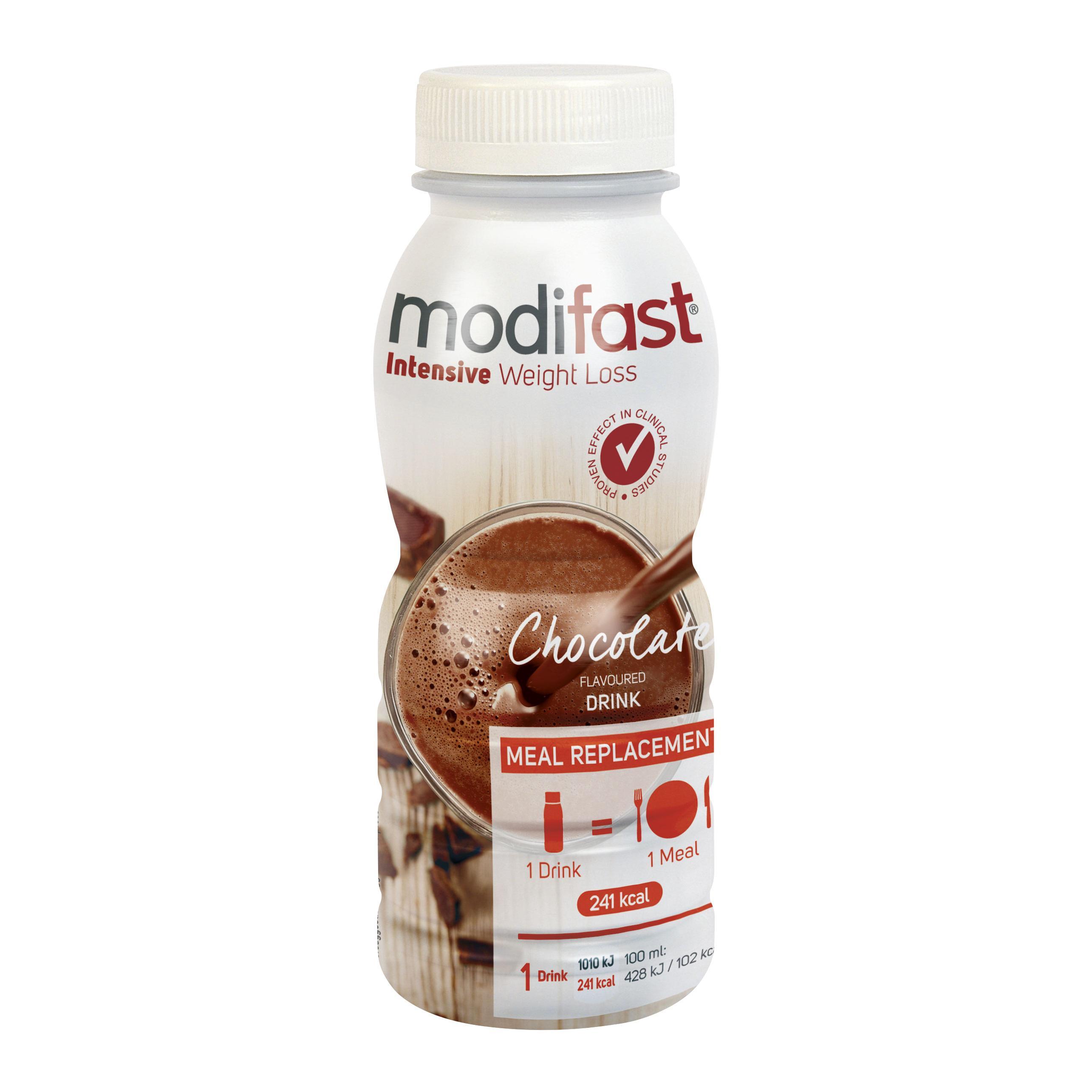 Image of Modifast Boisson intensive au chocolat