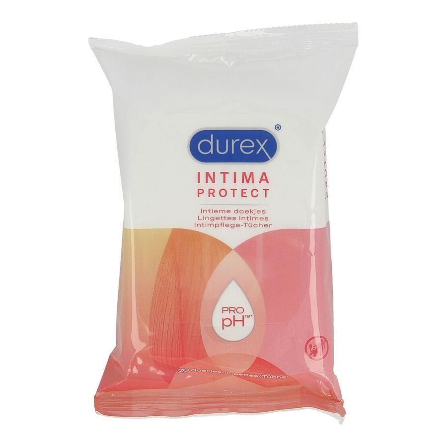 Image of Durex Intieme doekjes